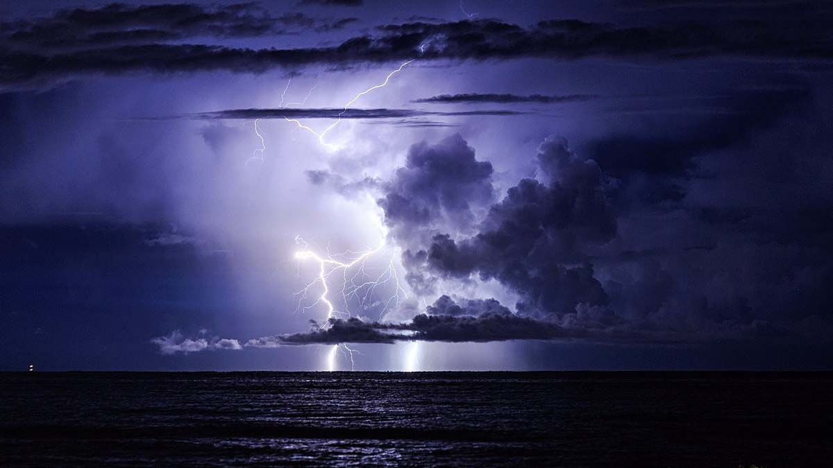 typical thunderstorm